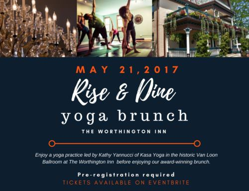 Rise & Dine Yoga Brunch – Sunday, May 21st