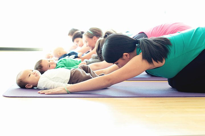 Image result for baby and me yoga
